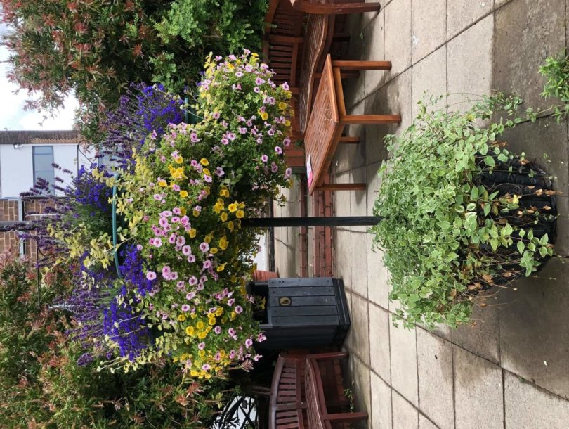 Med Garden Benches