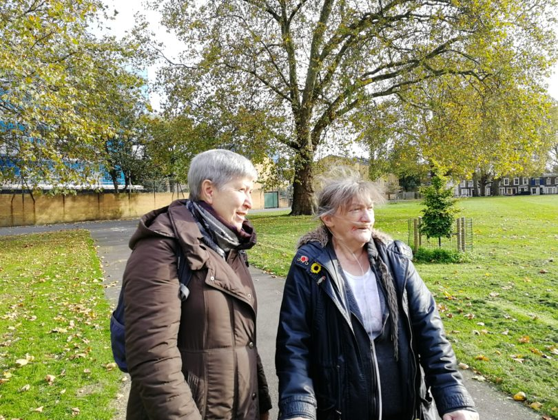 Patient And Carer In Park 2